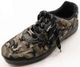 骑兵迷彩越野鞋时尚防臭耐磨迷彩帆布解放鞋男跑步训练鞋