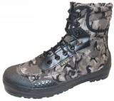 正品高腰突击喀斯特迷彩作战靴越野军靴户外登山训练鞋解放鞋