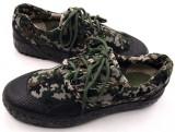 迷彩作训鞋解放鞋耐磨透气帆布胶鞋户外训练鞋硫化鞋军鞋