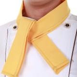 厨师三角巾领带领结 酒店西餐厅服务员领巾 厨师领巾 多色