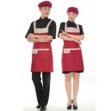 围裙 韩 版 时尚 厨房围裙 工作围裙 厨师服务员围裙