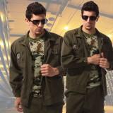 学生军训迷彩服套装 男 迷彩工作服批发 电焊工作服