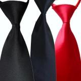 高档职业领带 工作领带 酒店服务员领带 易拉得领带 方便领带