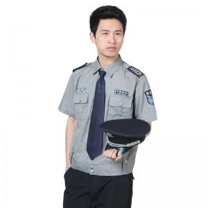 新款保安夏装短袖夏季保安服装物业小区保安制服衬衣