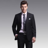 男士重庆西服套装 商务休闲修身西装外套 高端结婚礼服绅士正装