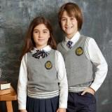 重庆校服童装伊顿纪德秋款男女童款英伦学院儿童针织
